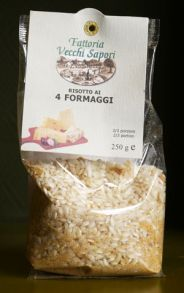 Risotto 4 fromages